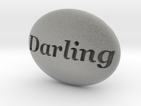 S46 Ellipse Enh. DARLING @ 40 x 30 mm. in Metallic Plastic