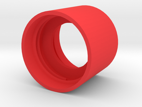 Tornado Tube in Red Strong & Flexible Polished: Small