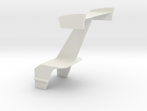 Wing With Motor Box Mt in White Natural Versatile Plastic