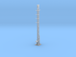 RhB Signal Mast for Main signals in Smooth Fine Detail Plastic