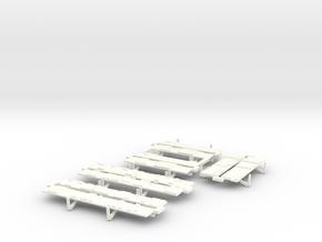YT1300 DEAGO LANDING BAY DOORS in White Processed Versatile Plastic