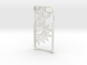 Floral 2 Iphone 7 Case in White Natural Versatile Plastic
