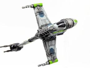 Prototype B-wing Conversion Kit in Smoothest Fine Detail Plastic