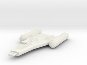 Clone Wars Y-Wing in White Natural Versatile Plastic