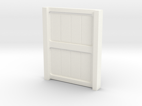 Wall Lockers in White Processed Versatile Plastic