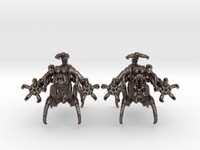 Düstereherrscher 001 II 15mm in Polished Bronzed Silver Steel