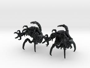 Skorpulex 001 II 28mm in Black Hi-Def Acrylate