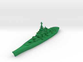 USS Montana in Green Strong & Flexible Polished