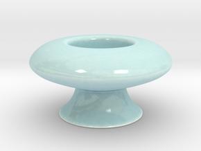 Antiquities Vessel 163 in Gloss Celadon Green Porcelain