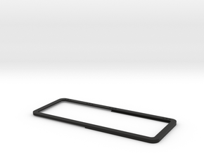 Open Rear Side Window Left D90 D110 Team Raffee 1/ in Black Natural Versatile Plastic