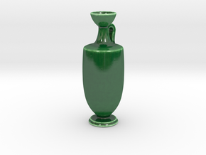 Antiquities Vessel 167 in Gloss Oribe Green Porcelain