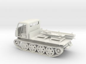 1:16 RSO/01 German Tractor in White Natural Versatile Plastic