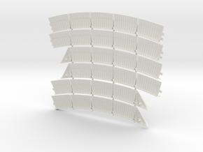 DeAgo Falcon Exhaust Plates For The Ion drive  in White Natural Versatile Plastic