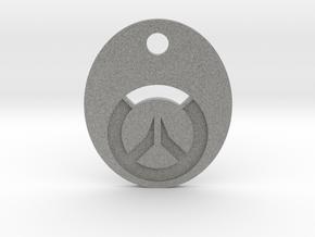 Overwatch Symbol Keychain in Metallic Plastic