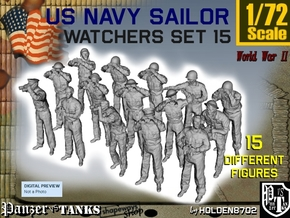 1-72 US Navy Watchers Set15 in Frosted Ultra Detail
