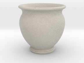 Antiquities Vessel 23, Cup No Handles in Natural Sandstone