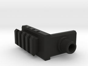 M87 Muzzle Adapter in Black Strong & Flexible