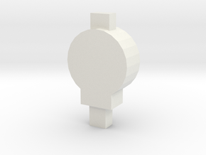 CGI TAIL LAMP 00/HO Scale in White Natural Versatile Plastic