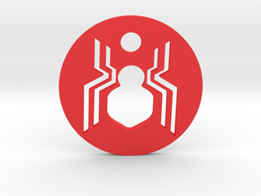 Spider-Man Homecoming Keychain in Red Processed Versatile Plastic