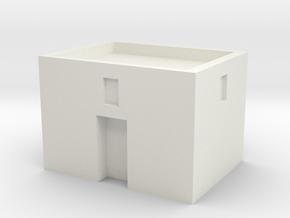 Small MENA in White Natural Versatile Plastic