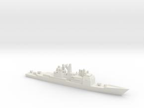 USS Ticonderoga (CG-47), 1/1800 in White Natural Versatile Plastic