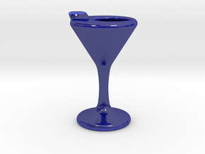 Martini Lemon Jug in Gloss Cobalt Blue Porcelain