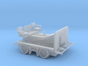 HO Scale (1:87) Fairmont M14 Speeder Car in Smooth Fine Detail Plastic