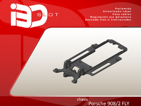 Chasis para Porsche 908/2 FLY in White Natural Versatile Plastic