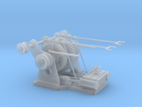 Anchor winch, steam, scale 1:35 in Smooth Fine Detail Plastic: 1:35