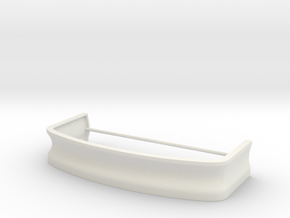 Outlaw Mustang Bumper in White Natural Versatile Plastic