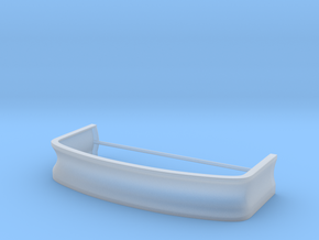 Outlaw Mustang Bumper in Smooth Fine Detail Plastic