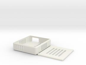 Osu 2-Key Keyboard Case in White Natural Versatile Plastic