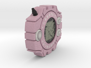 Kari's Digivice in Full Color Sandstone