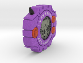 Izzy's Digivice in Full Color Sandstone