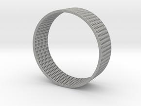 Abstract Bracelet (77 mm-diameter) in Aluminum