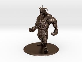 Brute Creature in Polished Bronze Steel