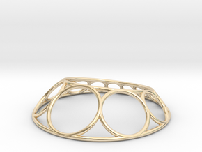 Chain Pendant in 14K Yellow Gold