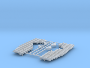 EC-135 Snow Skids  1/72 in Smoothest Fine Detail Plastic: 1:72