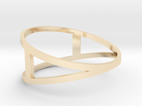 The A Ring in 14K Yellow Gold: 7 / 54