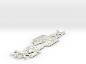 CK4 Chassis Kit for 1/32 Scale LMP MagRacing Car in White Natural Versatile Plastic