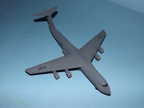 1/285 (6mm) C-5A Galaxy in White Natural Versatile Plastic