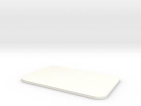 Closed Window Rear Door D90 D110 Team Raffee in White Processed Versatile Plastic