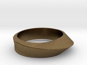 Ring Moebius in Natural Bronze: 8 / 56.75