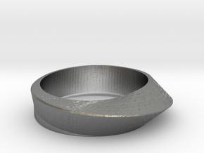 Ring Moebius in Natural Silver: 8 / 56.75