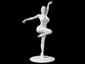 Ballet Girl Body 30cm in White Natural Versatile Plastic: Extra Large