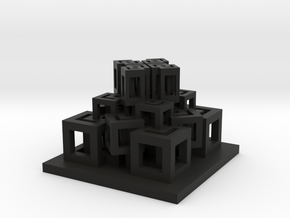 Temple in Black Natural Versatile Plastic