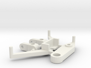 SP2 Spare Parts for CK2 Chassis Kit in White Natural Versatile Plastic