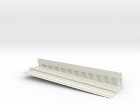 MARKET SUBWAY EL INCLINE 6 PT3 HO SCALE in White Natural Versatile Plastic