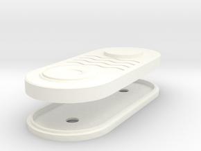 Jedi Communicator - 2 part - Clone Wars in White Processed Versatile Plastic