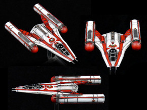 R2CW Y-Wing 3-pack 1/270 in Smoothest Fine Detail Plastic